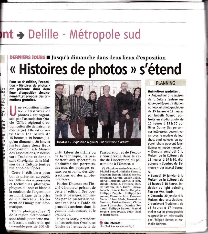 La revue de presse Histoires de photos 2013 150064_203668216437696_1169680092_n
